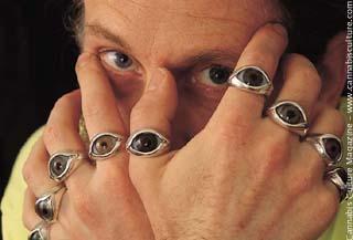Czolowski: the eyes have it.  photo Stan Czolowski