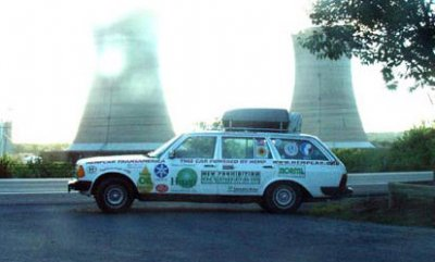 The HempCar at Three Mile Island