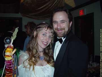 Chris Bennett with his lovely wife Renee Boje
