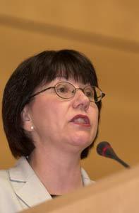 Health Minister Anne McClellan