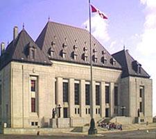 Canada`s Supreme Court building