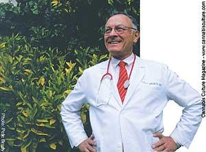 Dr Tod Mikuriya: one brave doctor.