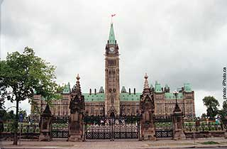 Parliament Hill: where Canada`s cannabis laws are debated, but never actually change.