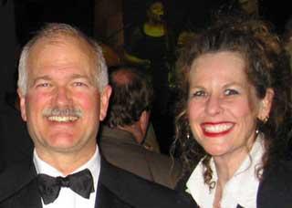 Jack Layton and Alison Myrden