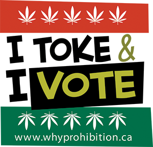 I toke and I vote!