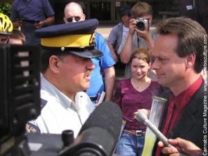 Emery from a July 2003 arrest in Winnipeg