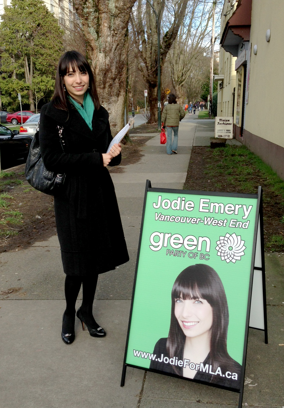 Jodie Emery for Vancouver-West End