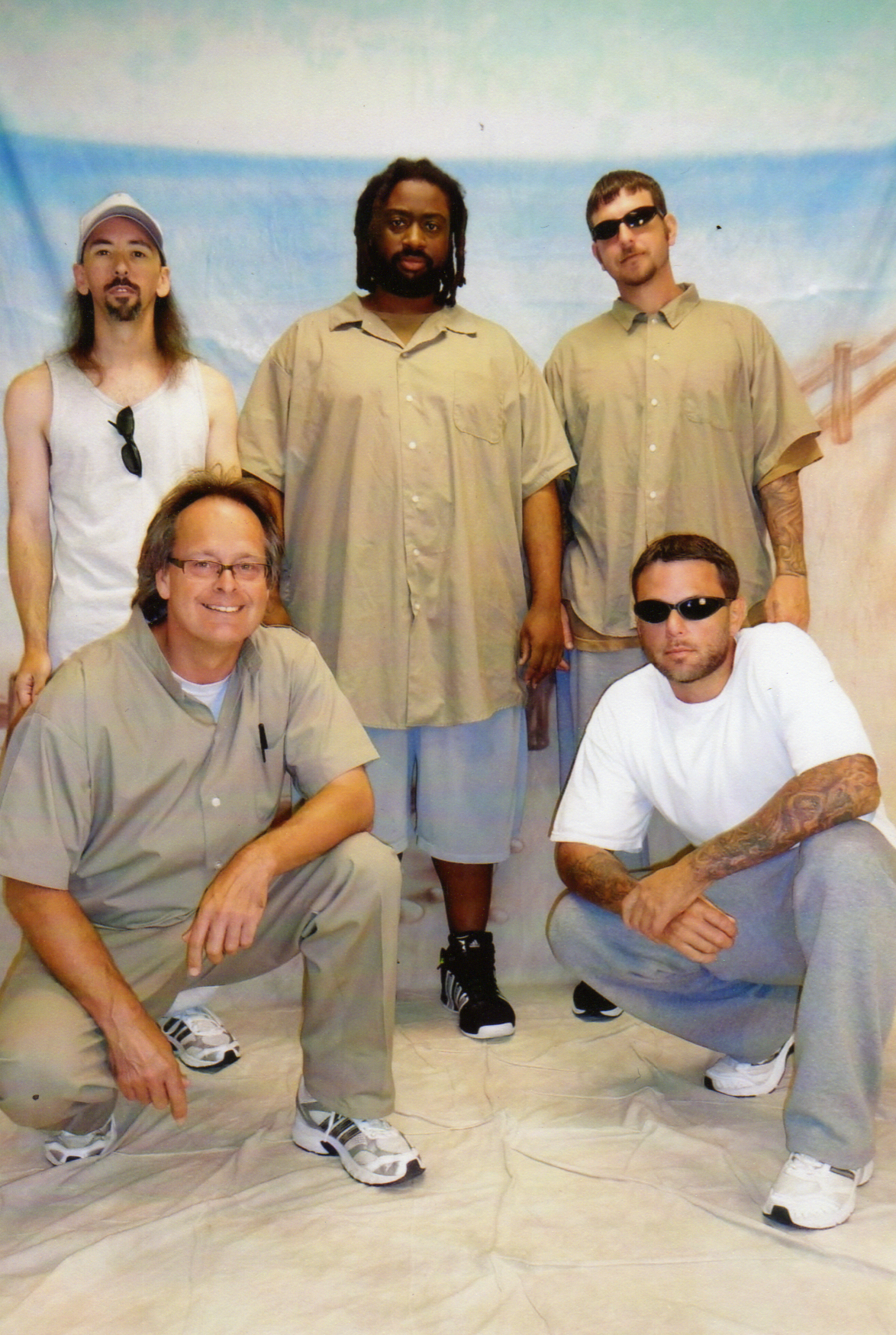 Marc's prison band