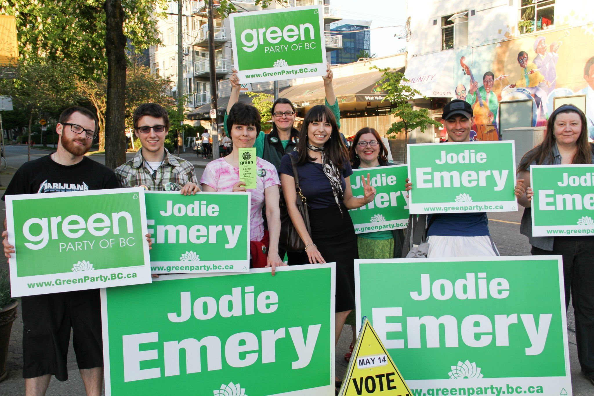 Jodie Emery BC Green Party 2013