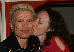 Kissing Billy Idol