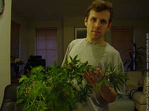 Med-pot user Tom Waters