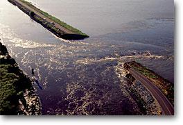 When the levee breaks...