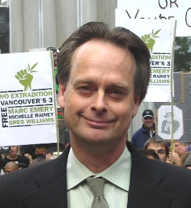 Marc Emery is anxious to speak out against the DEA