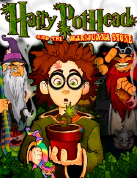 Hairy Pothead and the Marijuana Stone, by Dana Larsen