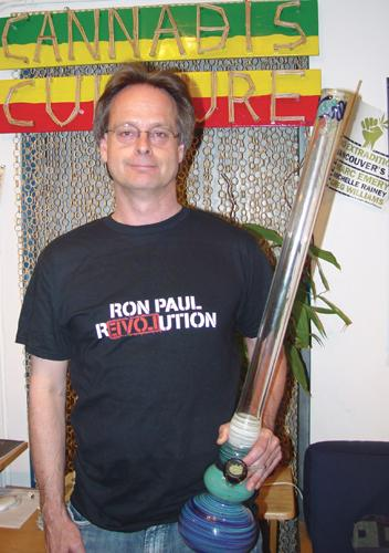 Marc Emery is a long-time Ron Paul fan