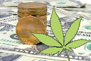 American money decline elimiates Canadian-US pot trade