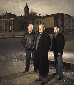 Ed Burns, David Simon, and George Pelecanos