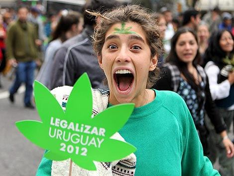 Staten star for marijuanan i uruguay