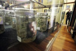 Merchandise at the Farmacy, a medical marijuana dispensary in West Hollywood. (Spencer Weiner - Los Angeles Times)