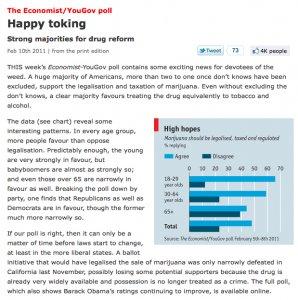 Economist Magazine YouGov poll