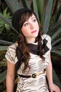 • Cream hemp & raw silk bomber jacket (Hemp Hoodlamb, $90)  • Burgundy bamboo & organic cotton v-neck shirt (HT Naturals, $45)  • Grey hemp & cotton skirt (Livity, $35)