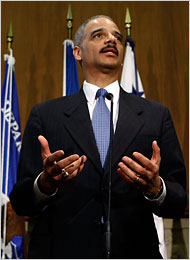 Eric H. Holder Jr. outlined a new enforcement policy. (Chip Somodevilla/Getty Images)