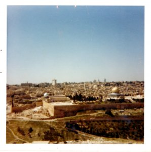 Looking at Jerusalem