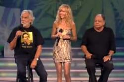 "Tommy Chong, his wife Shelby, and partner Cheech Marin stop by CBC's ""Just For Laughs"" to tell a few stoner jokes."