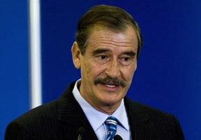 Former Mexico President Vicente Fox says it's time to open the debate on legalizing marijuana.