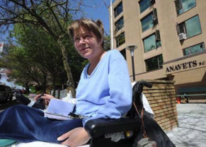 Activists will protest the treatment of Marilyn Holsten, a medical marijuana patient who died after being evicted from her apartment, on Wednesday, Sept 2, 2009.
