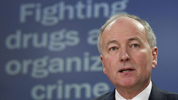 Justice Minister Rob Nicholson speaks in February, 2011 about the government's previous attempt to impose mandatory minimum sentences for drug crimes. Bill C-10, currently before the Senate, would impose minimums for marijuana possession. (Adrian Wyld/Canadian Press)