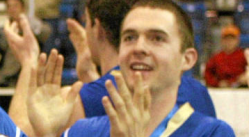 Peter Hodson, former Vancouver police officer, seen here during his time on the UBC Thunderbirds team.