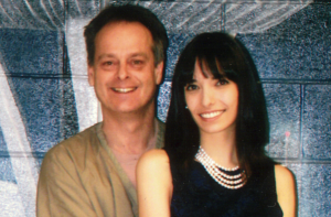 Marc Emery posing with his visiting wife Jodie in a photo from SeaTac FDC, July 4th 2010.