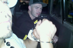 Paul Wall and Baby Bash in a photo taken during the arrest. From Billboard