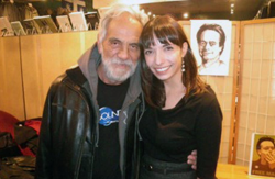 Funnyman Tommy Chong with Princess of Pot Jodie Emery at CCHQ.