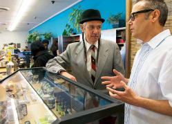 Brothers Steve and Andrew DeAngelo discuss the finer points of running the USA's largest marijuana dispensary.