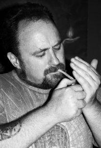Cannabis activist and religious history buff Chris Bennett.