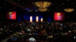 Conference plenary session: (photo courtesy HCLU, drogireporter.hu/en)