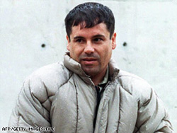 """Joaquin """"El Chapo"""" Guzman Loera, pictured in 1993, ranks 701th on Forbes' yearly report on billionaires."""