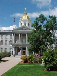 New Hampshire Statehouse.