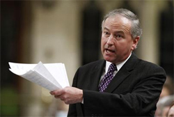 Justice Minister Rob Nicholson says people who sell or grow marijuana belong in jail.