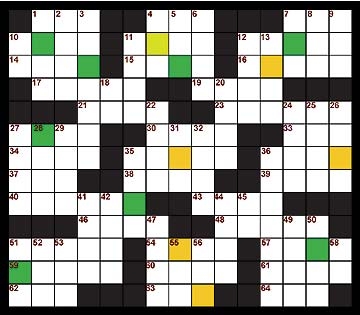 Puzzle generated by Keith Hentschel. Clues by Dana Larsen.