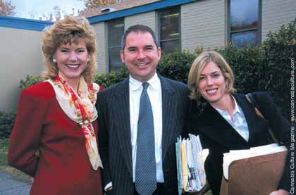 Michelle Kubby, David Nick, and Carrie Hagin.