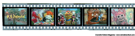 Scenes from Pufnstuf, with drug references galore!