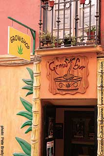 Grow shop owned and operated by Jose Molina