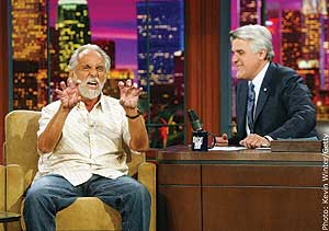 Chong describes his arrest to Jay Leno.