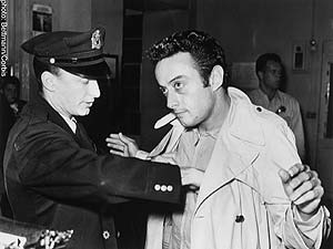 Lenny Bruce after being busted for using obscene language