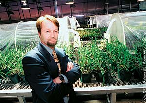 Brent Zettl: Head of Prairie Plant Systems.