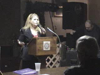 Loretta speaking at an earlier event