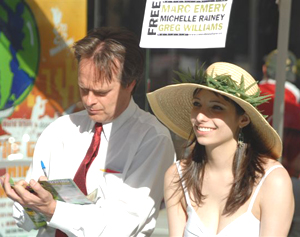 Meet Marc and Jodie Emery at the Toronto Global Marijuana March